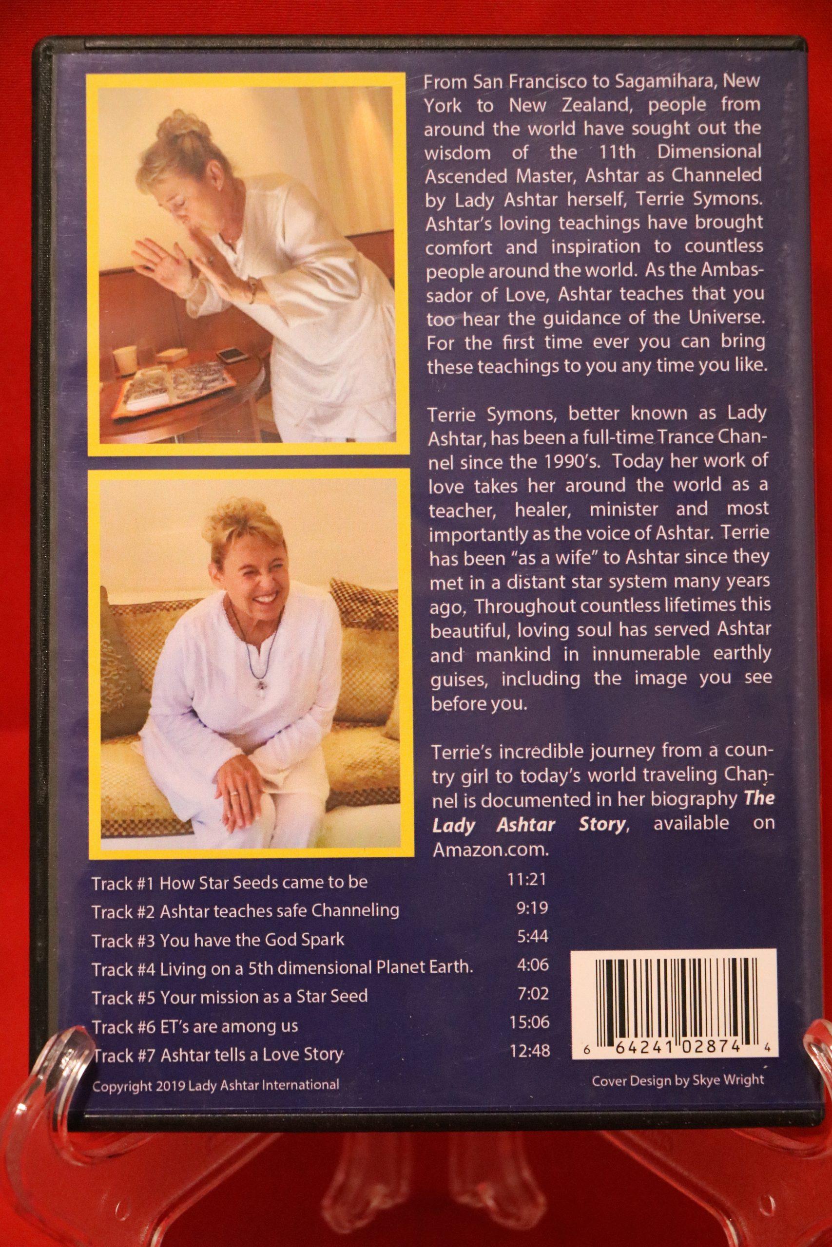 Wisdom of Ashtar volume 1 DVD