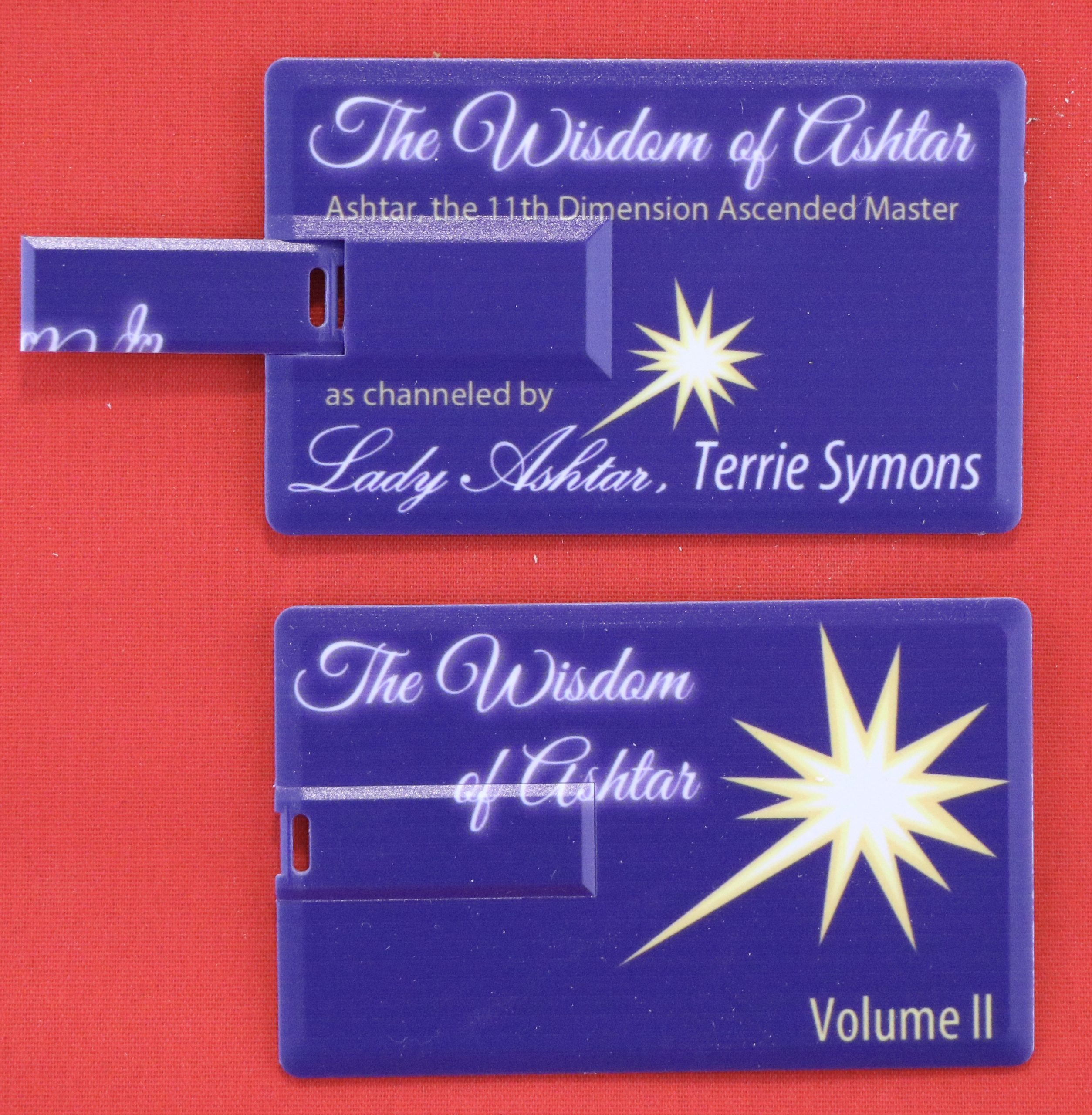 Wisdom of Ashtar Volume II Flash Drive