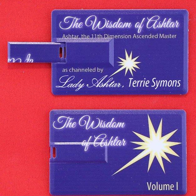 Wisdom of Ashtar Volume 1 Flash Drive